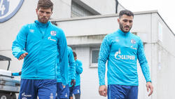 Zünden beim FC Schalke 04 nicht wie erwartet: Klaas-Jan Huntelaar (l.) und Sead Kolasinac