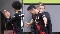 Robert Lewandowski hofft auf Treffer Nummer 41 für den FC Bayern