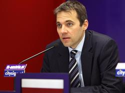 Austrias Finanzvorstand Markus Kraetschmar verkündete den beschlossenen Neustart