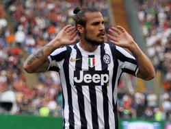 Osvaldo, ex attaccante della Juve, in procinto di passare all'Inter