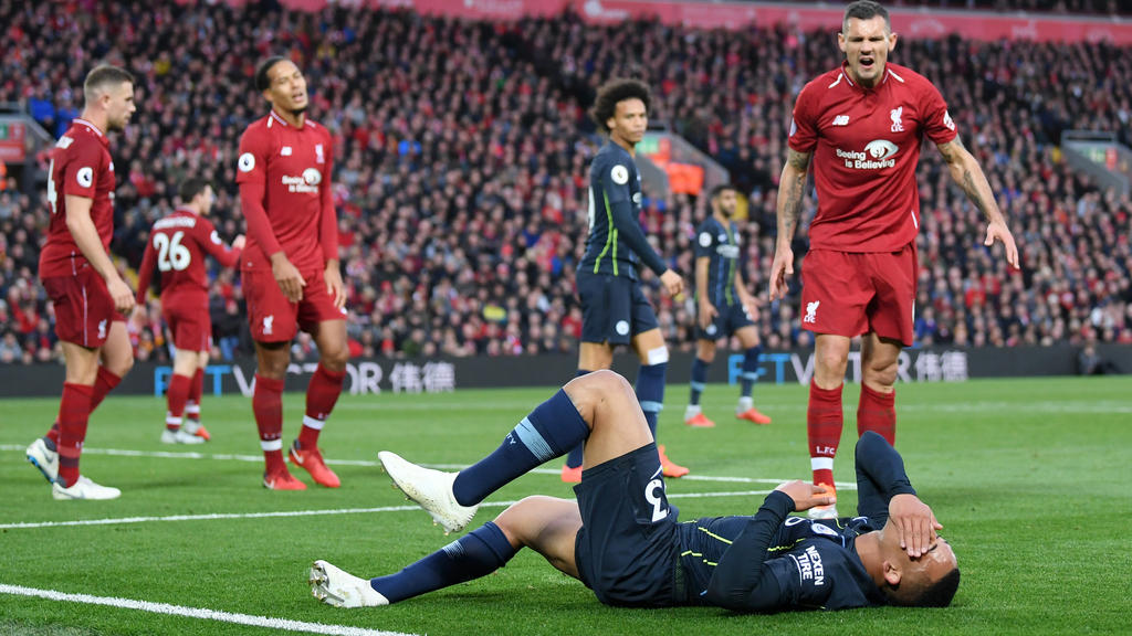 Der FC Liverpool und Manchester City trennen sich im Spitzenspiel der Premier League torlos 0:0