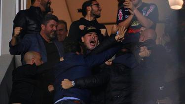 Diego Maradona, Trainer des mexikanischen Zweitligisten Dorados de Sinaloa, muss eine Geldstrafe zahlen