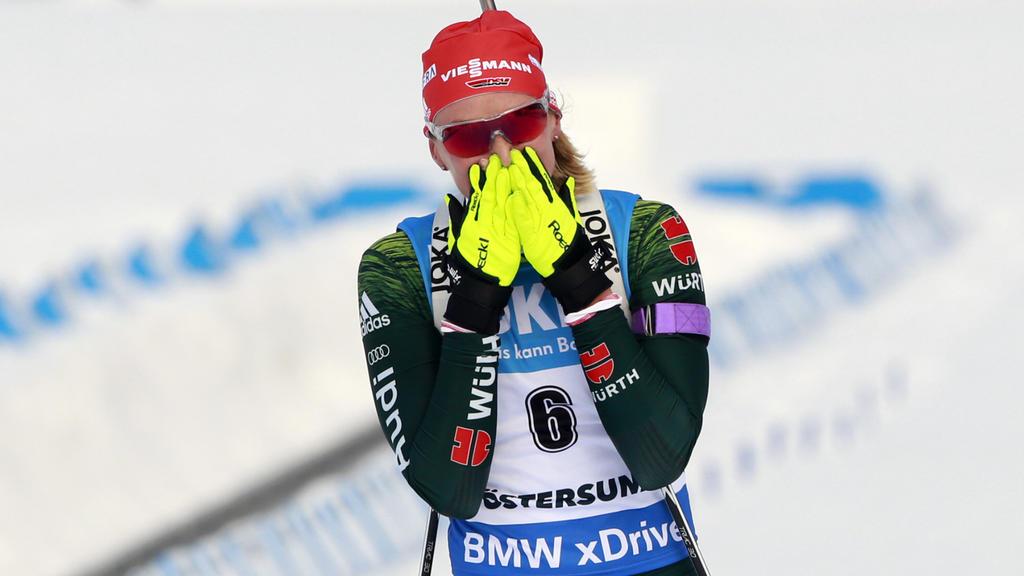 Denise Herrmann holte WM-Gold im Verfolger