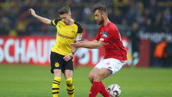 Marco Reus und der BVB entgingen nur knapp einem Remis