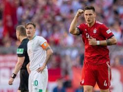 Niklas Süle consiguió los tres puntos para los bávaros. (Foto: Getty)