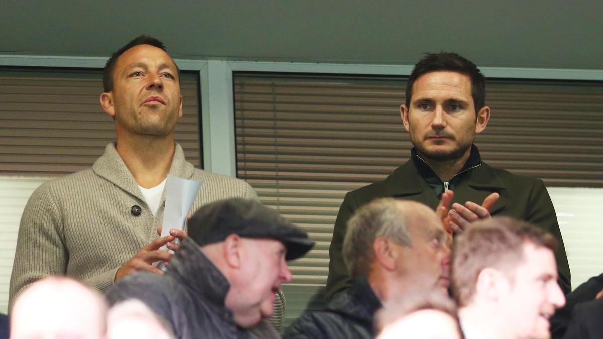 John Terry und Frank Lampard stehen mit ihren Teams im Playoff-Finale