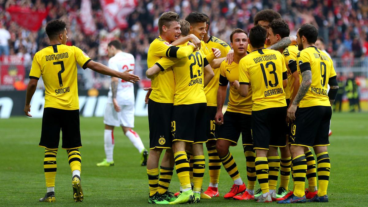 Borussia Dortmund darf weiter auf die Meisterschale hoffen