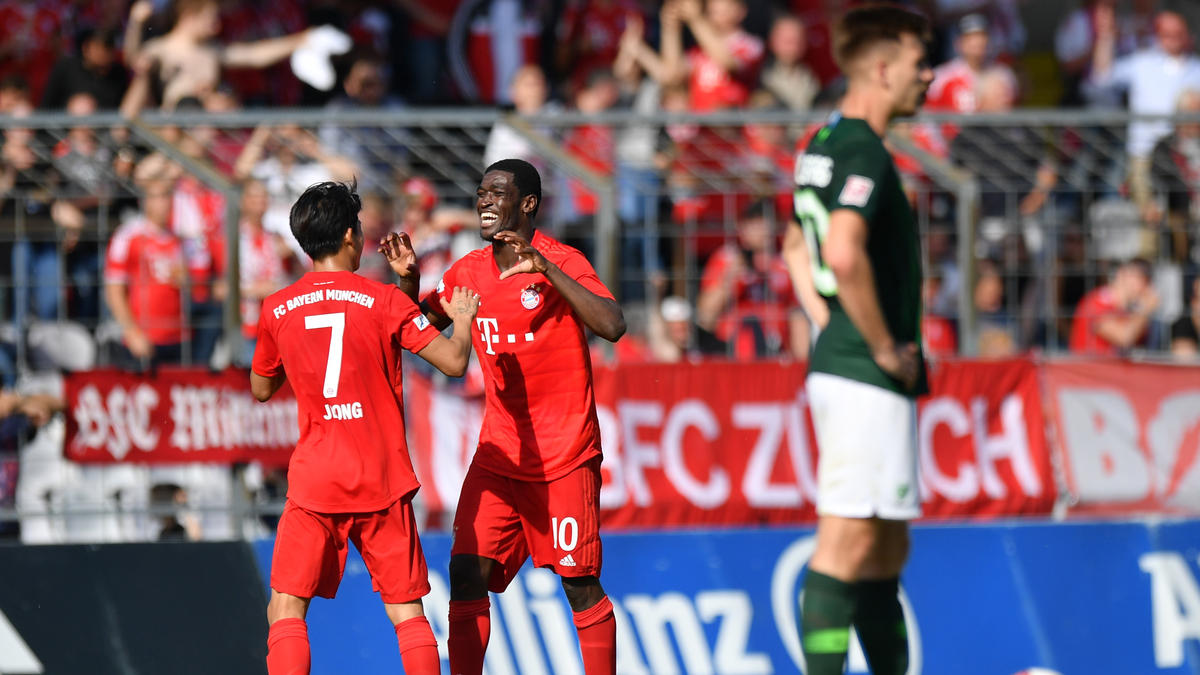 Der FC Bayern II kann die Rückkehr in die 3. Liga bejubeln