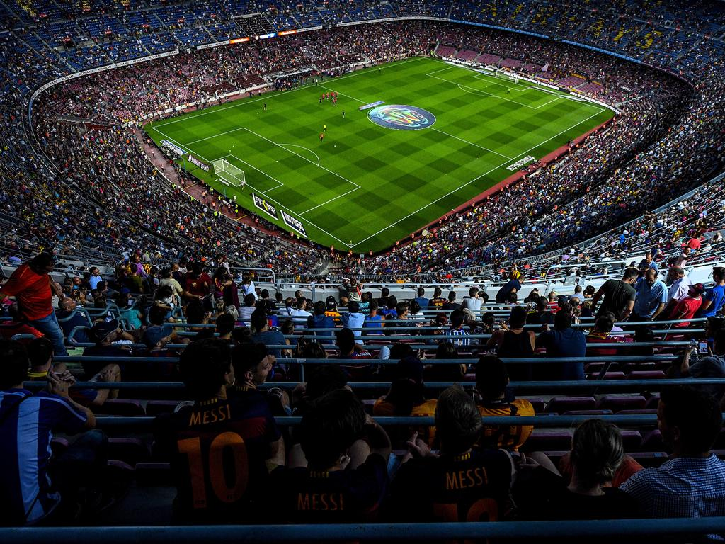 Das Camp Nou wird vorerst nicht umgebaut