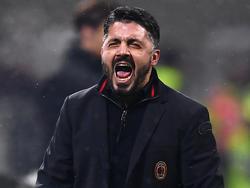 Milan-Trainer Gennaro Gattuso