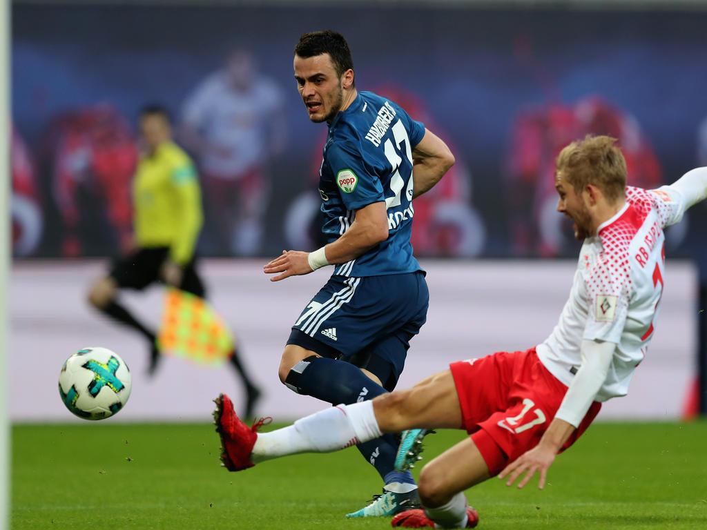 Filip Kostic erzielte den umjubelten Ausgleich für den HSV