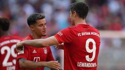 Philippe Coutinho und Robert Lewandowski sorgen beim FC Bayern für Furore