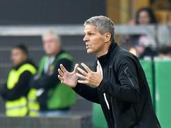 """Rapid-Trainer Dietmar Kühbauer kündigte ein """"physisches"""" Spiel gegen Salzburg an"""