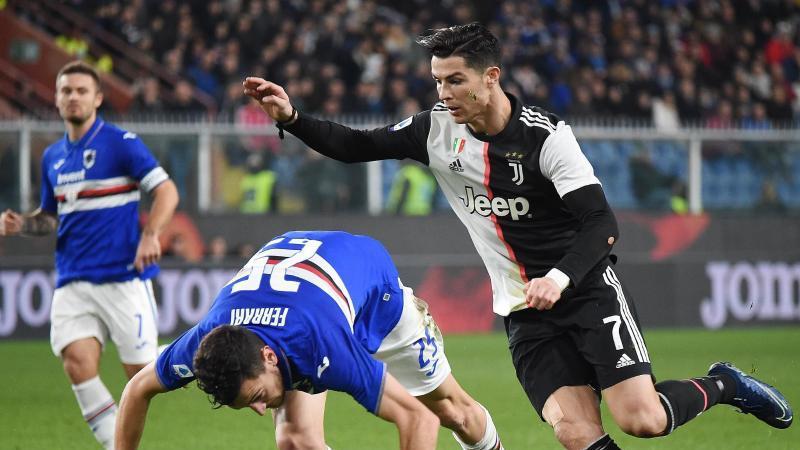 Cristiano Ronaldo schoss Juventus Turin zum Sieg