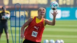 Erling Haaland kann wieder mit dem BVB-Team trainieren