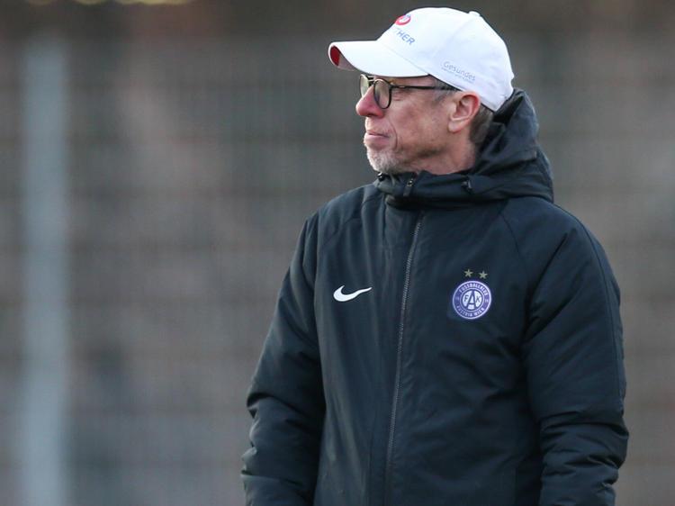 Peter Stöger war zufrieden mit dem Auftreten seiner Mannschaft