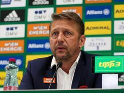 Klare Aussagen von Rapid-Sportchef Zoran Barišić