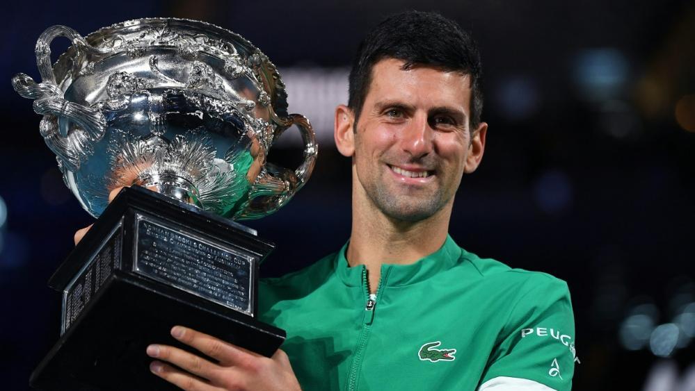 Novak Djokovic gewann am Sonntag die Australien Open