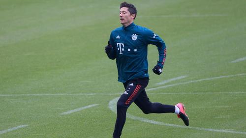 Robert Lewandowski fehlt dem FC Bayern in den kommenden Bundesliga-Spielen