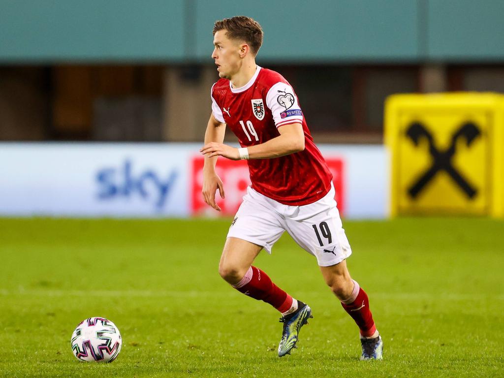 Christoph Baumgartner ist auch im ÖFB-Team zu einer fixen Größe geworden