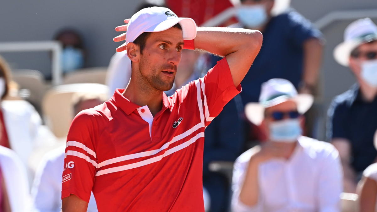 Novak Djokovic lag im French-Open-Finale bereits mit 0:2 in Sätzen hinten