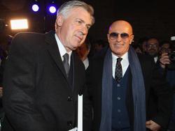 Arrigo Sacchi (r.) erwartet viel von Carlo Ancelotti