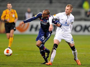 Markus Berger absolvierte seinen letzten Einsatz für Chernomorets Odessa beim 0:1 gegen Olympique Lyon im Sechzehntelfinale der Europa League.