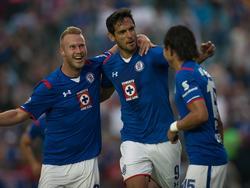 Roque Santa Cruz ist gegen die 'Tigres' der Matchwinner