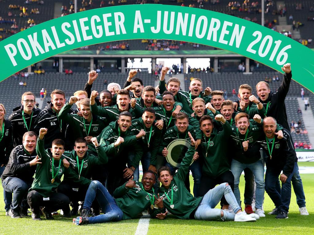 DFB-Junioren-Pokalsieger: Die A-Jugend von Hannover 96