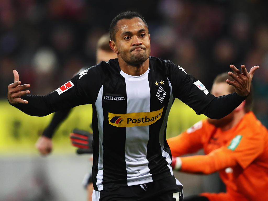 Raffael ist wieder ins Teamtraining der Borussia aus Mönchengladbach eingestiegen