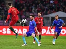 Cristiano Ronaldo und seine Portugiesen waren gegen die Niederlande chancenlos