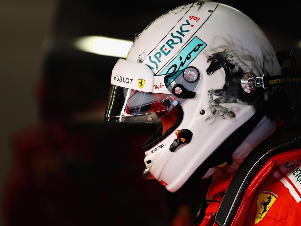 Sebastian Vettel erlebte in China ein Auf und Ab