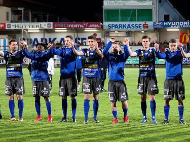 Noch ist unklar, ob Hartbergs Kicker in der Bundesliga spielen werden