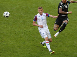 Hat mit Island nun Nigeria vor der Brust: Bundesliga-Legionär Alfred Finnbogason