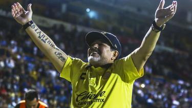 Der Aufstieg rückt für Diego Maradonas Mannschaft näher