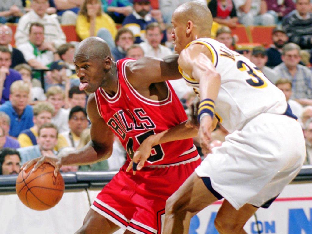 Michael Jordan kehrte 1995 auf den Basketball-Court zurück