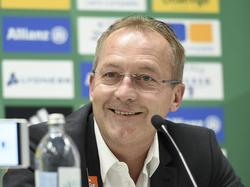 Rapid-Sportchef Fredy Bickel ist für die neue Saison guter Dinge