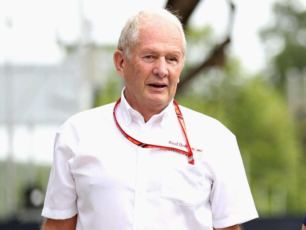 Helmut Marko lobte den Fabrikanten aus Japan