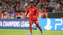 Kingsley Coman spielt seit 2015 beim FC Bayern München