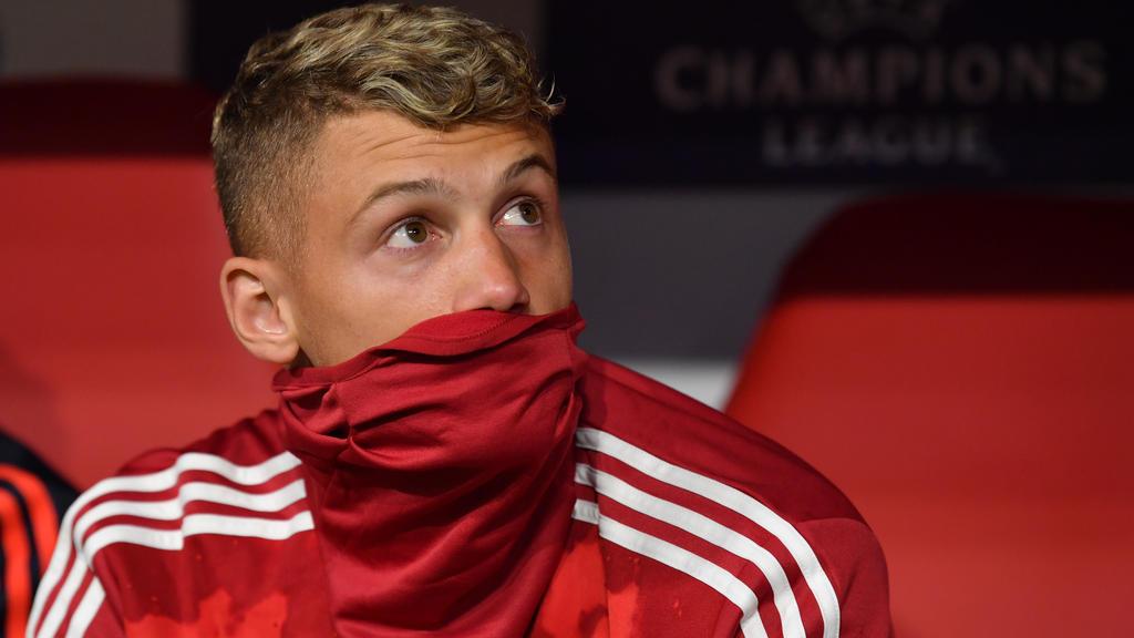 Mickael Cuisance sitzt beim FC Bayern nur auf der Bank