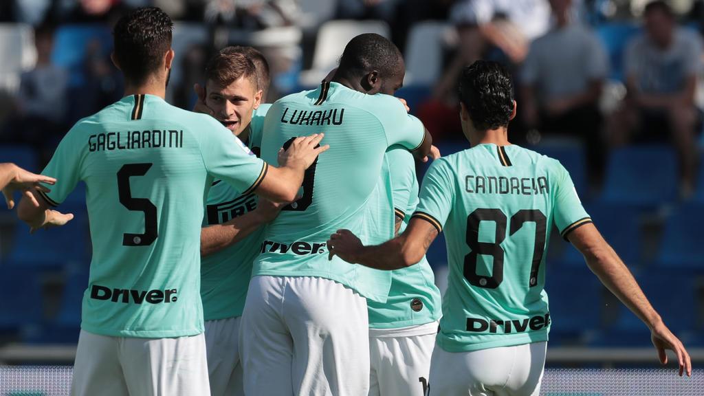 Inter Mailand siegte bei Sassuolo Calcio 4:3