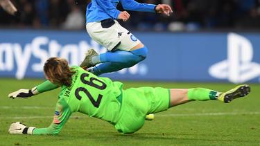 Maarten Vandevoordt sorgte für einen Champions-League-Rekord