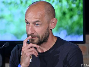 Trainer Stephan Helm will mit St. Pölten den Wiederaufstieg schaffen