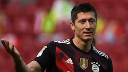 Robert Lewandowski vom FC Bayern weckt bei der Konkurrenz Begehrlichkeiten