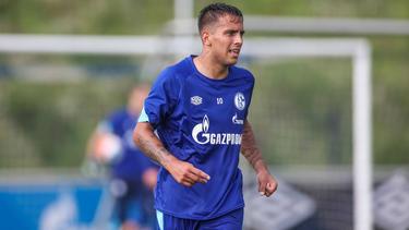 Rodrigo Zalazar trainierte beim FC Schalke bereits mit