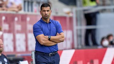 Für Dimitrios Grammozis und den FC Schalke 04 läuft es nicht rund