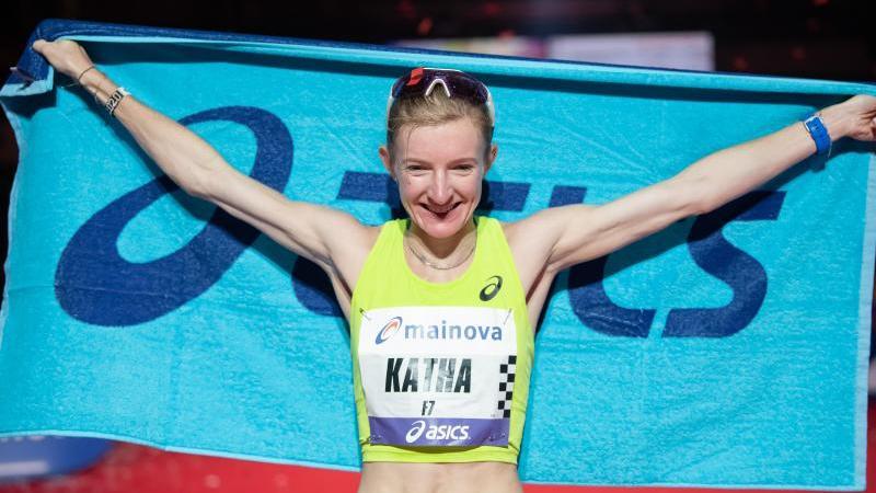 Katharina Steinruck ist derzeit die beste deutsche Marathonläuferin