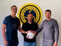 Alexander Zellhofer (li.) wird der neue Chefcoach der Vienna