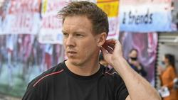 Erwartet ein Geduldsspiel gegen Atlético Madrid: Trainer Julian Nagelsmann von RB Leipzig