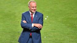 Karl-Heinz Rummenigge geht in sein letztes Jahr als Boss beim FC Bayern